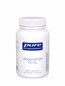 CO Q 10 UBIQUINOL-QH 100 MG 60 GELS Pure Encapsulations