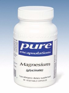 Magnesium Glycinate 120mg - Pure Encapsulations